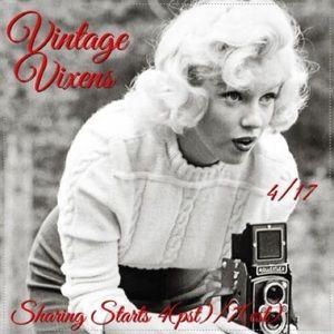 SATURDAY 4/17 Vintage Vixens Sign Up Sheet